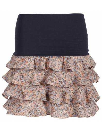 woven skirt - sesame - Blauw - Dept - Rokken
