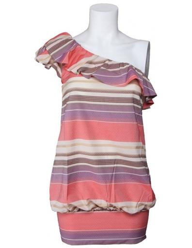 Odessa Asymmetric dress - Roze - Miss Sixty - Jurken
