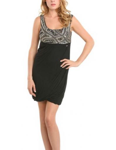 Farid dress - Zwart - Guess - Jurken